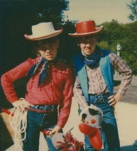 Age 9 as cowboy